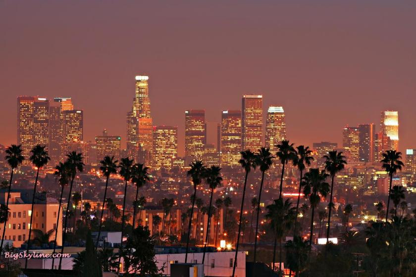 Skyline-Los-Angeles-Night