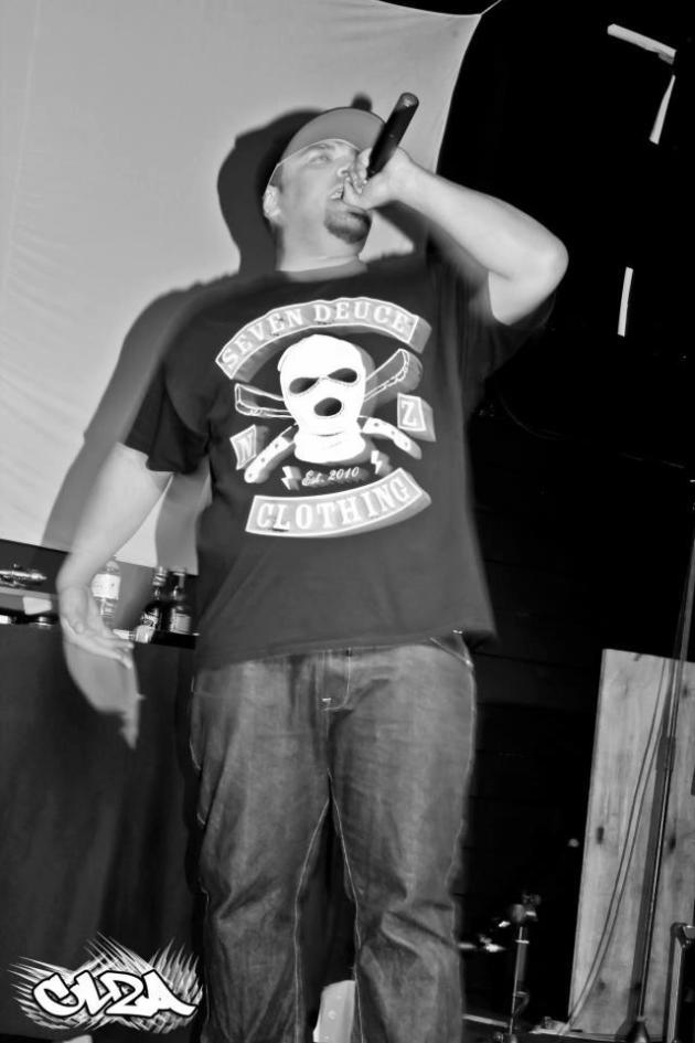 Mark performing