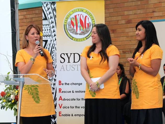 3 young women SVSG Launch