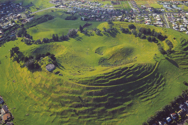 Mangere aerial view