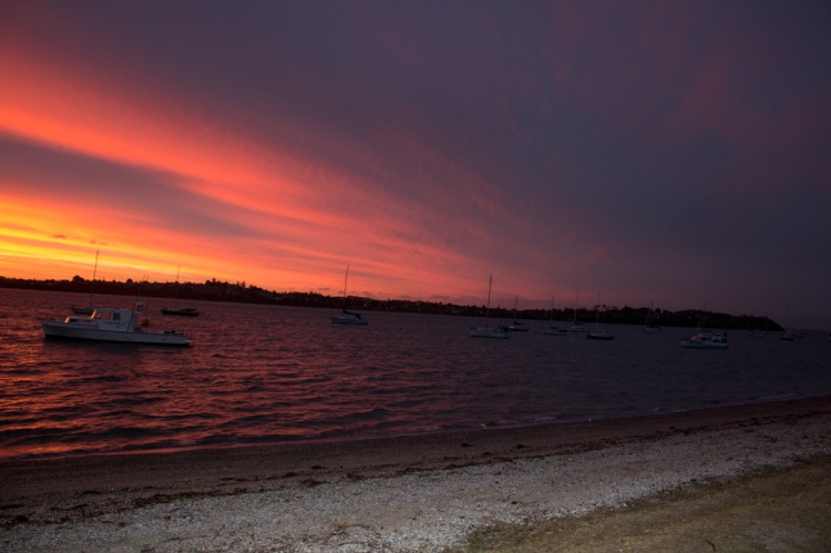 Jan - Sunset